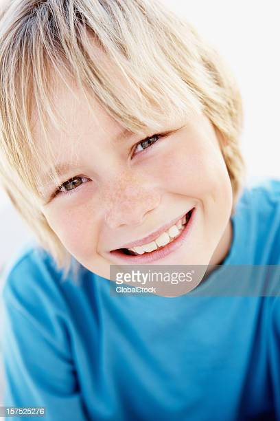 Portrait of a boy smiling