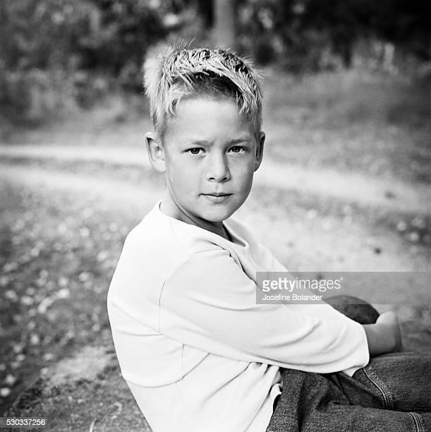 Portrait of a boy Sweden
