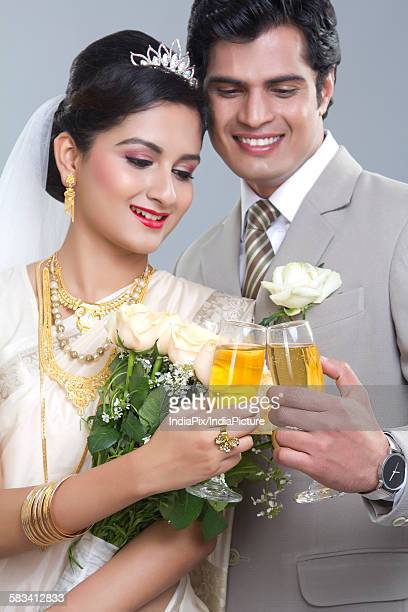 Portrait of a Bride and Bridegroom