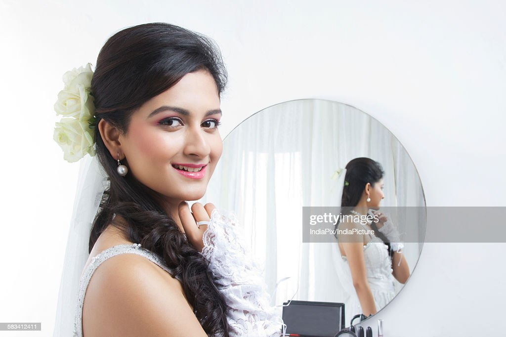 Portrait of a Bride : Stock Photo