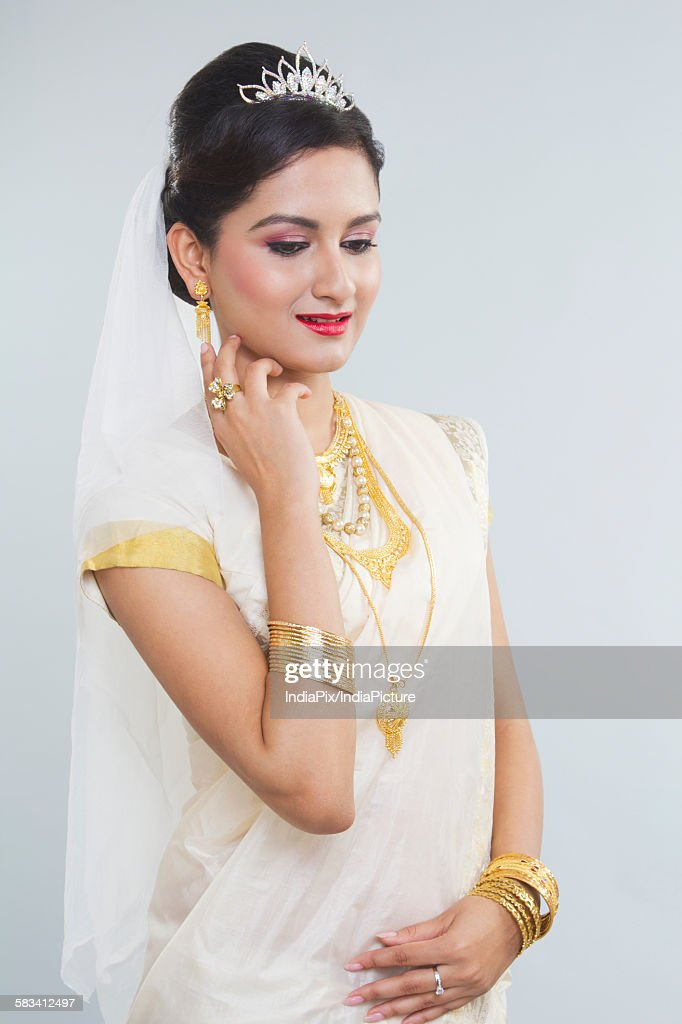 Portrait of a Bride : Stock Photo