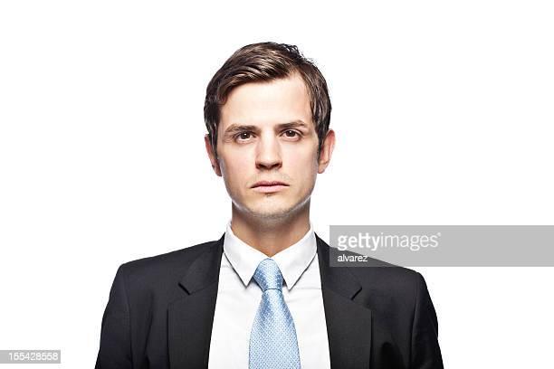 Porträt von business Mann.