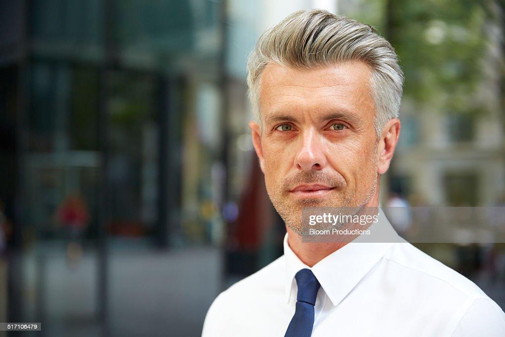 Portrait of a business man : Stock Photo
