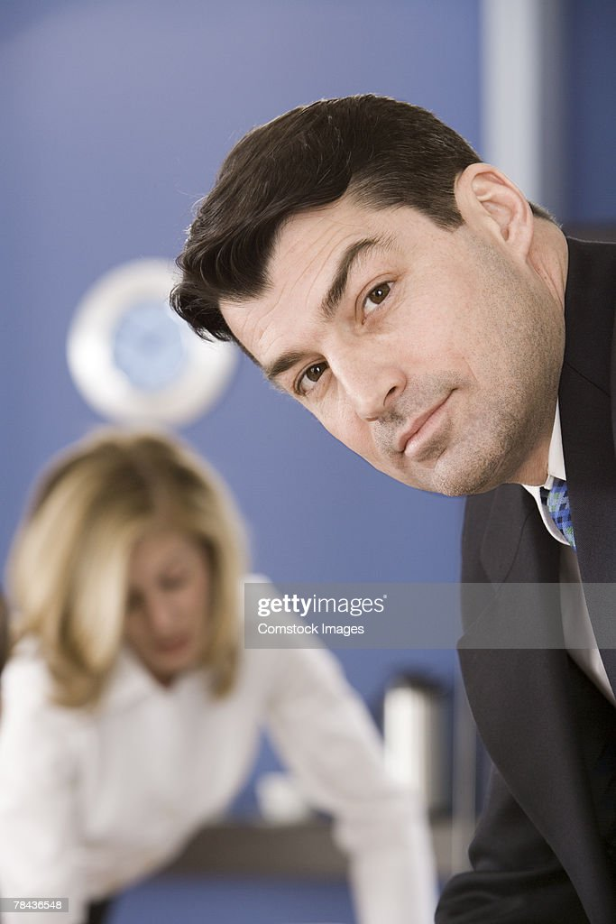 Portrait of a businessman : Stockfoto