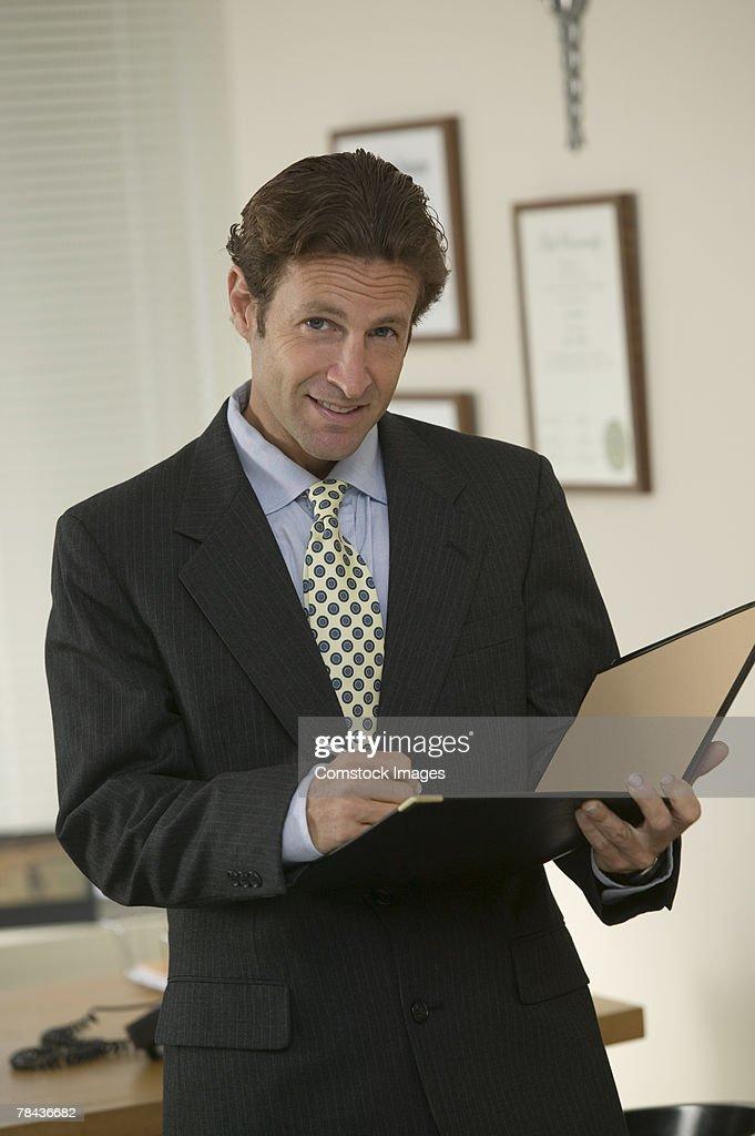 Portrait of a businessman : Stockfoto