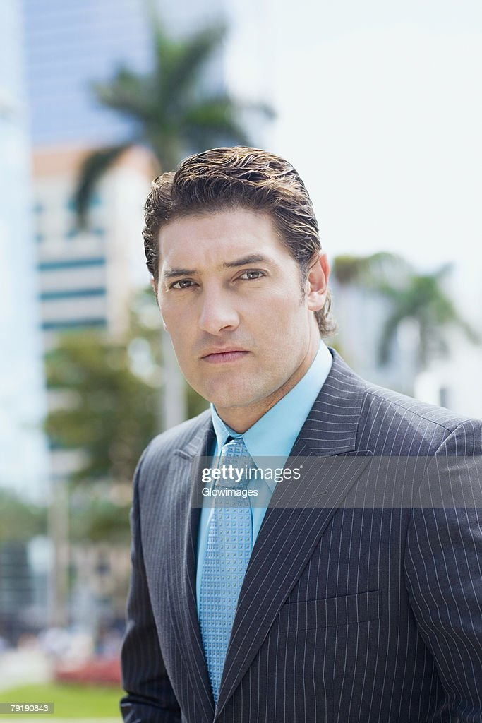 Portrait of a businessman : Foto de stock
