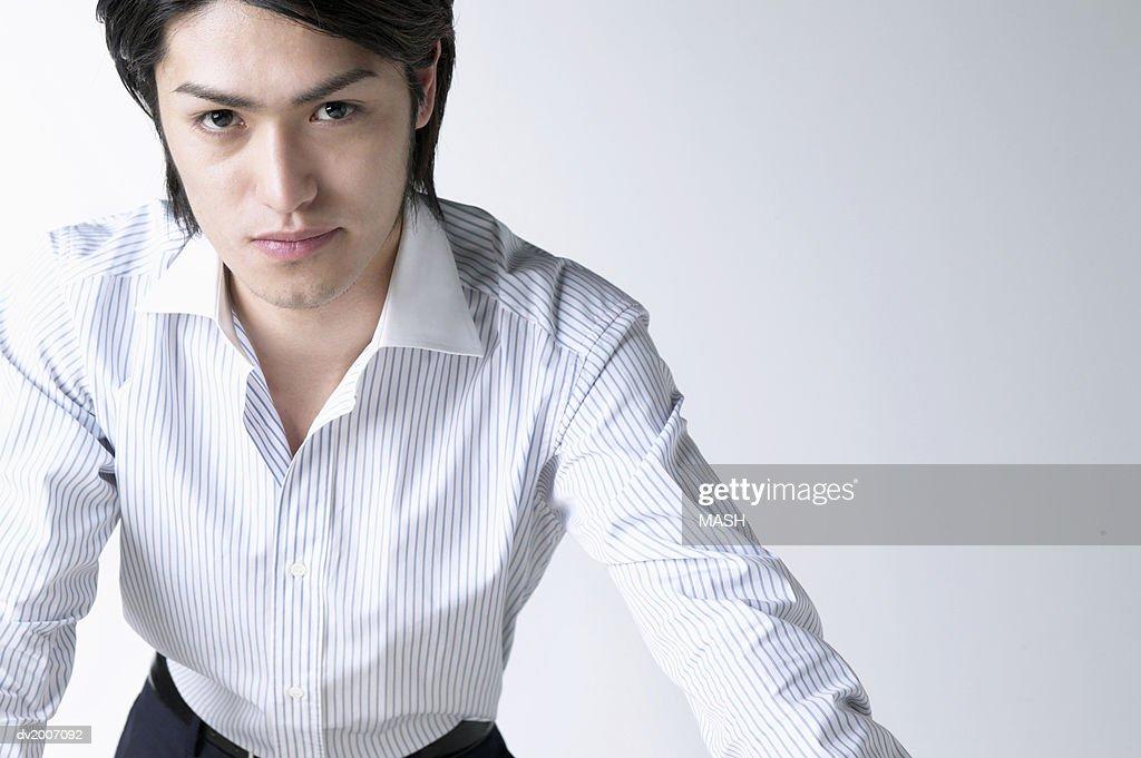 Portrait of a Businessman : Stock Photo