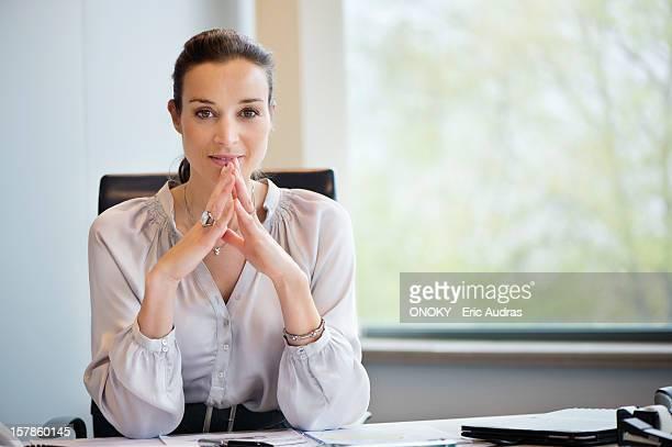 Portrait of a businesswoman in an office