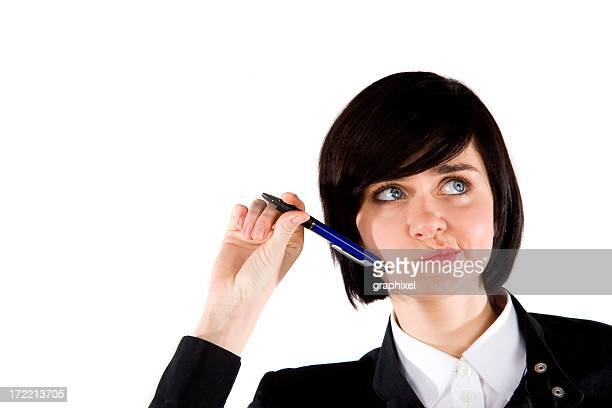 portrait of a businesswoman - graphixel stock pictures, royalty-free photos & images