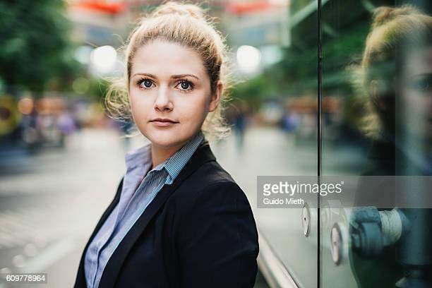 Portrait of a businesswoman.