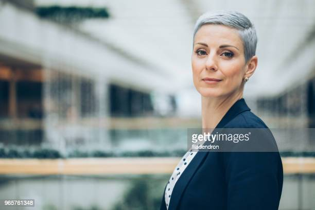 portrait of a businesswoman - confidence stock pictures, royalty-free photos & images
