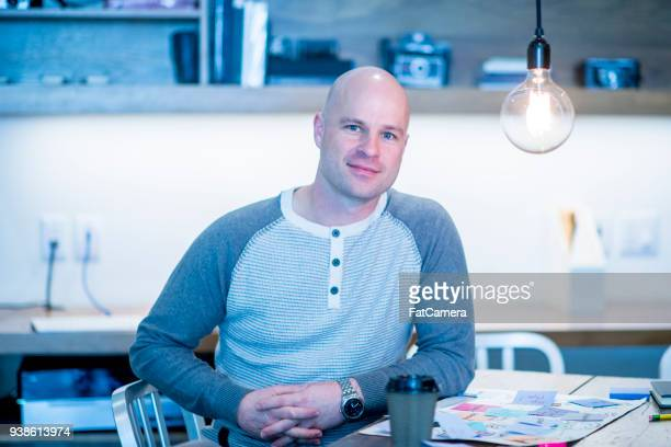 portrait of a casual businessman - fatcamera stock pictures, royalty-free photos & images