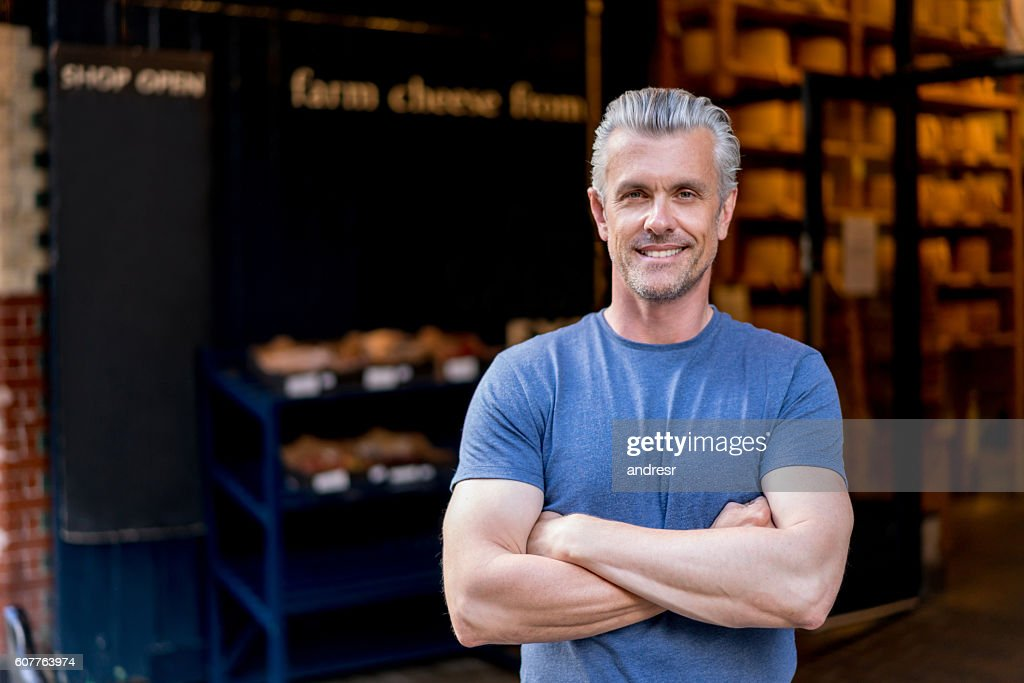 Portrait of a casual man : Stock Photo