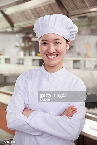 Portrait of a Chef in an Industry Kitchen