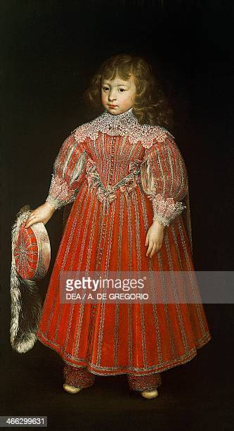 Portrait of a child 16th century painting by an unknown Flemish artist