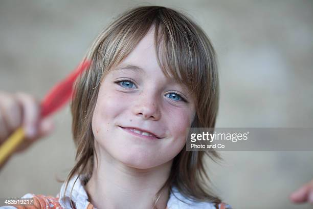 portrait of a child 8 years - 8 9 years stock pictures, royalty-free photos & images