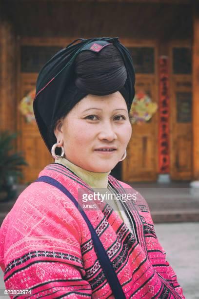 Portrait d'une femme chinoise