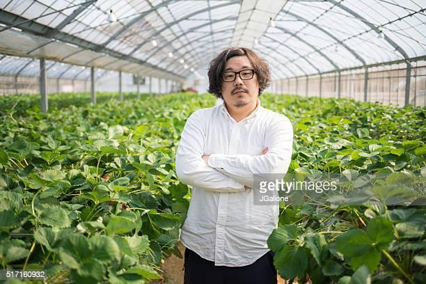 Portrait of a confident business owner