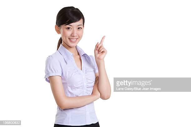 portrait of a confident businesswoman - 半そで ストックフォトと画像