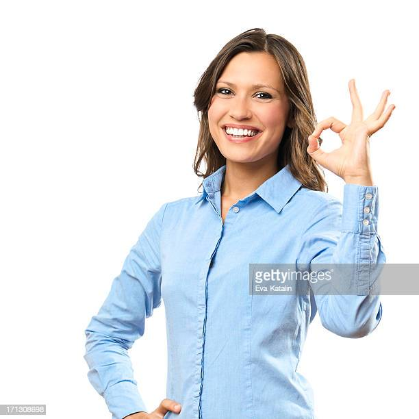 Retrato de una mujer de negocios seguros