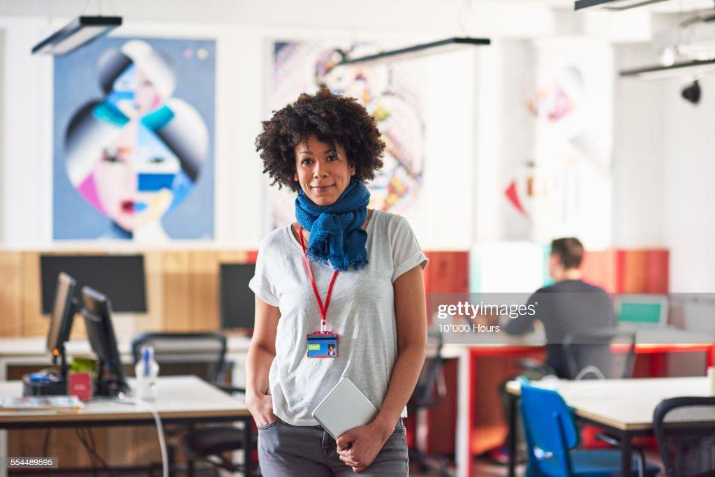 Portrait of a confident businesswoman : Stock Photo