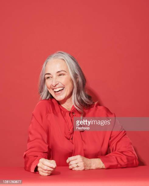 portrait of a confident, successful, happy mature woman - persons with disabilities stock pictures, royalty-free photos & images