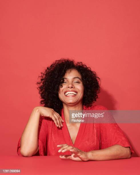 portrait of a confident, successful, happy mature woman - businesswoman stock pictures, royalty-free photos & images