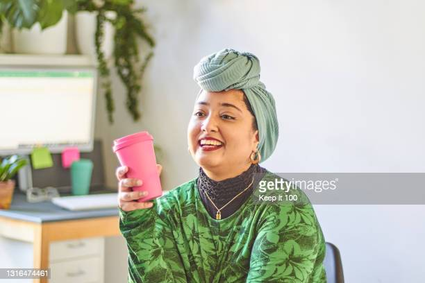 a portrait of a confident, successful woman - sustainable lifestyle stock pictures, royalty-free photos & images