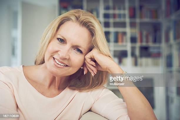 Portrait of a confident woman