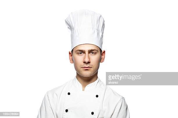 Porträt eines cook oder Chefkoch