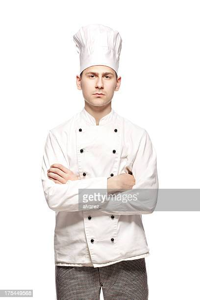 Portrait of a cook or chef