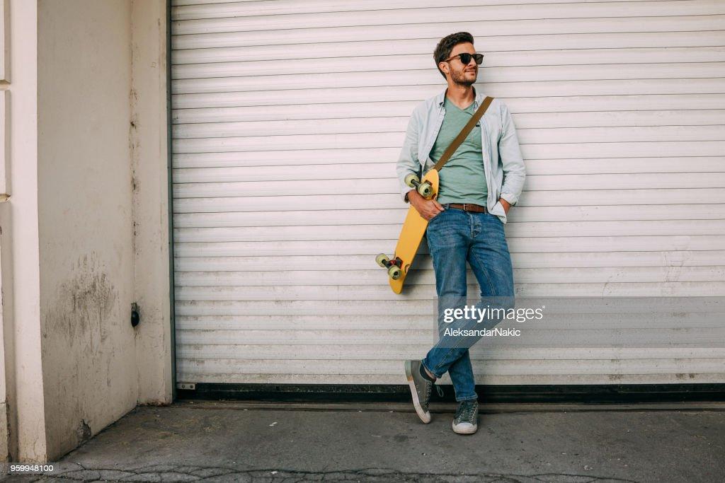 Porträt von eine coole junger Mann : Stock-Foto