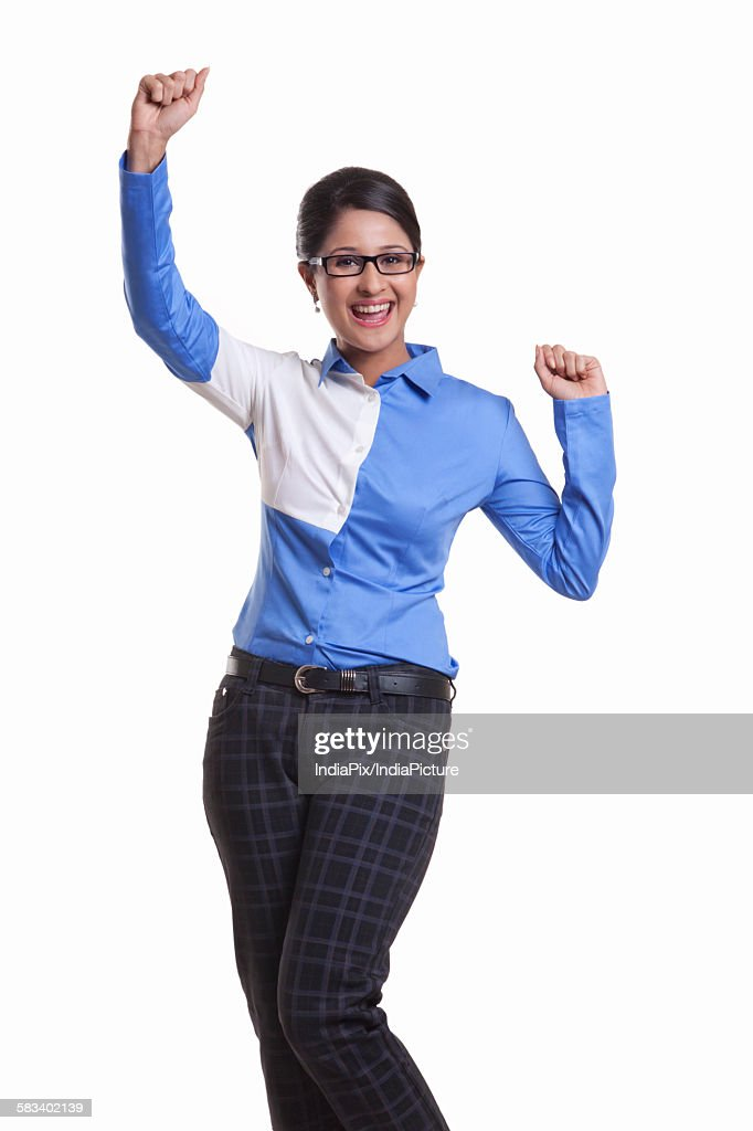 Portrait of a corporate WOMEN : Stock Photo
