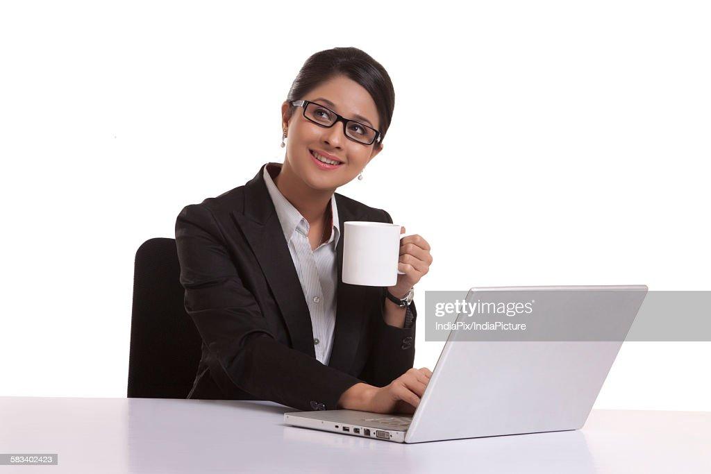 Portrait of a corporate WOMEN : Stock Photo