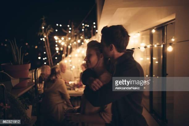 Portrait d'un couple en amour
