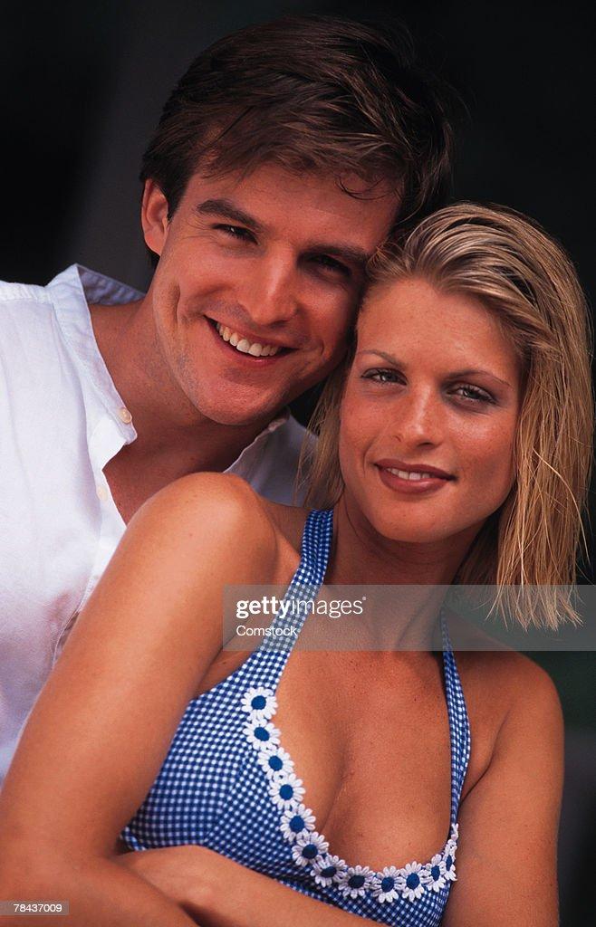 Portrait of a couple : Stockfoto