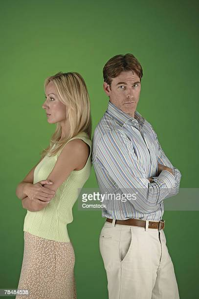 portrait of a couple - mid adult couple stock pictures, royalty-free photos & images