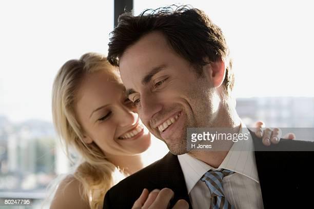 Portrait of a couple.