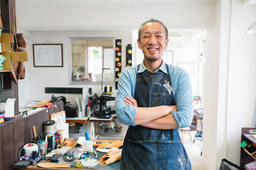Portrait of a craftsman - gettyimageskorea