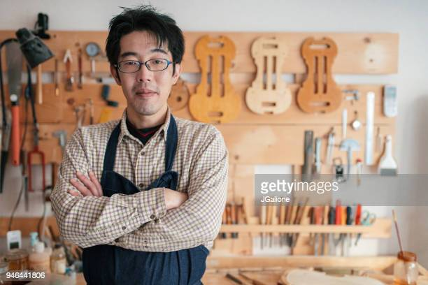 Portrait of a craftsman