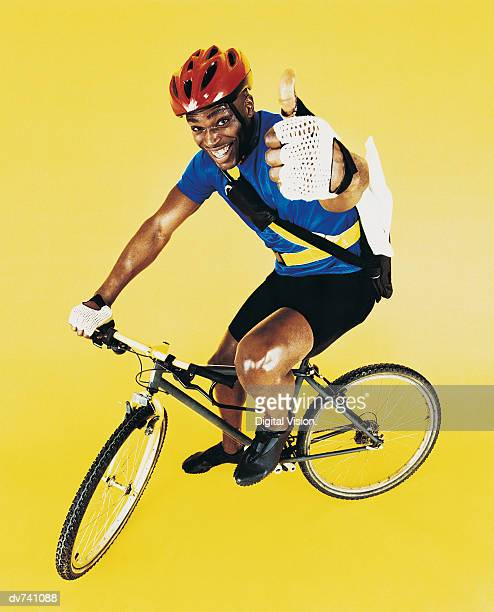 Portrait of a Cycle Courier
