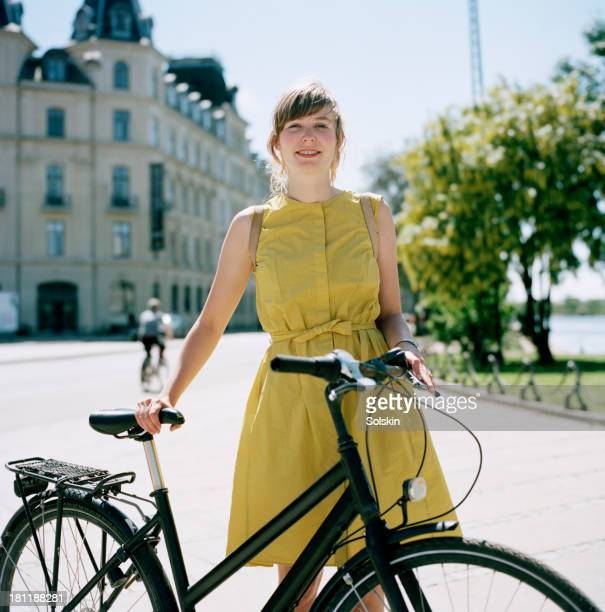 portrait of a cyclist - sleeveless stock pictures, royalty-free photos & images