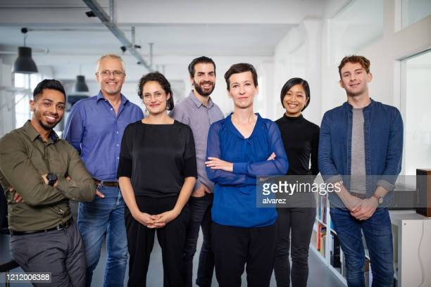 portrait of a diverse business team - group of people stock pictures, royalty-free photos & images