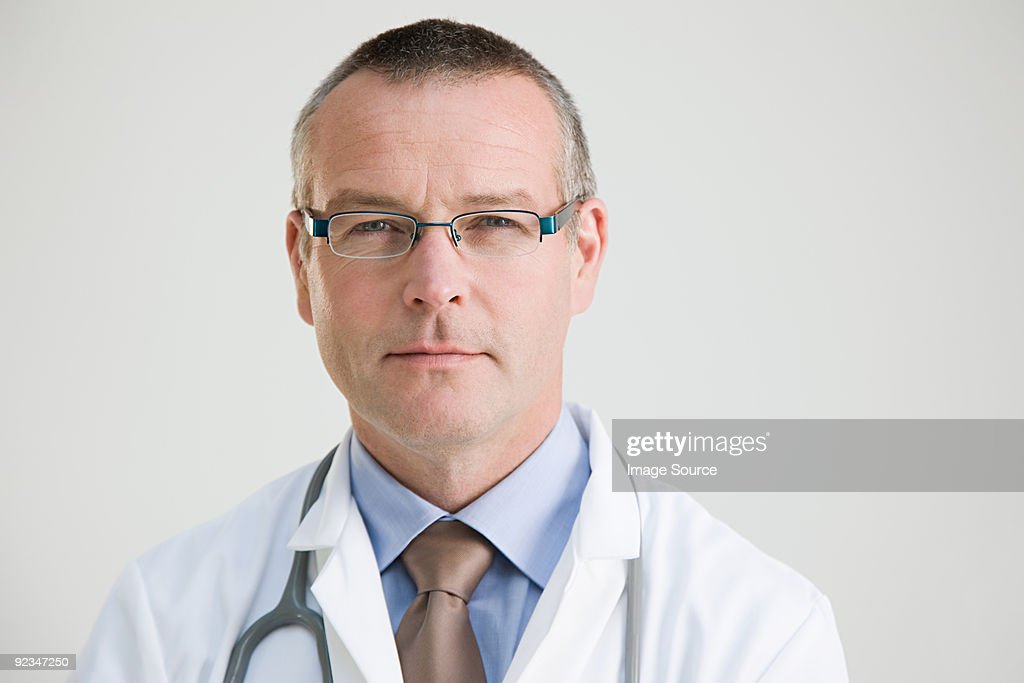 Portrait of a doctor : Stock Photo