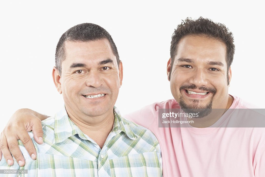 portrait of a father with his son ストックフォト getty images
