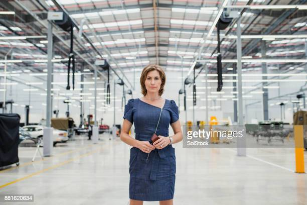 portrait of a female ceo - business owner stock photos and pictures