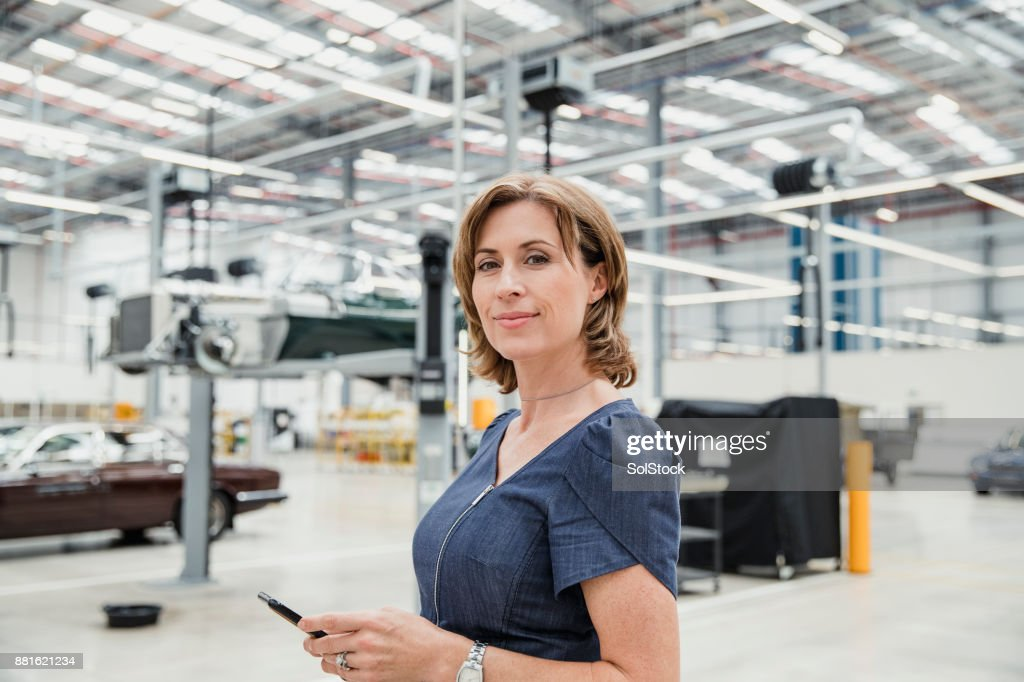 Portrait of a Female CEO : Stock Photo