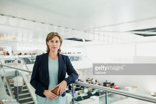肖像画の女性 CEO