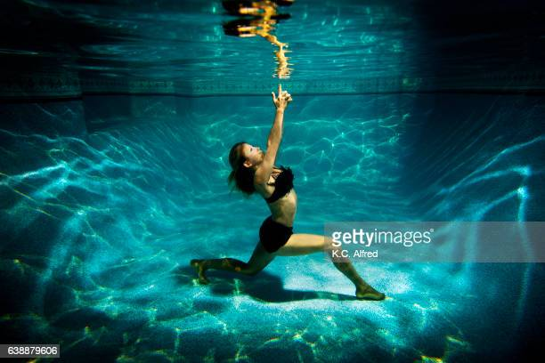 Yoga pool stock photos and pictures getty images - Clairemont swimming pool san diego ca ...