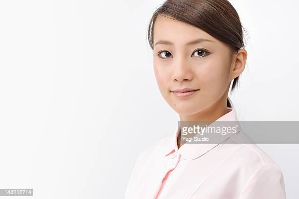 Portrait of a female nurse